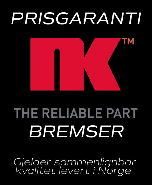 Prisgaranti på NK Bremser