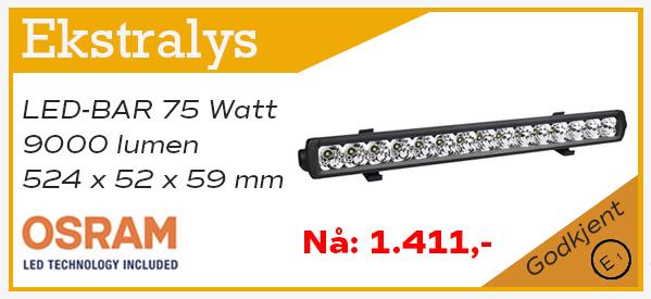 Bilde med link til 9000 lumen LED-BAR