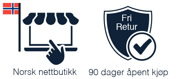 Norsk nettbutikk 90 dager åpent kjøp