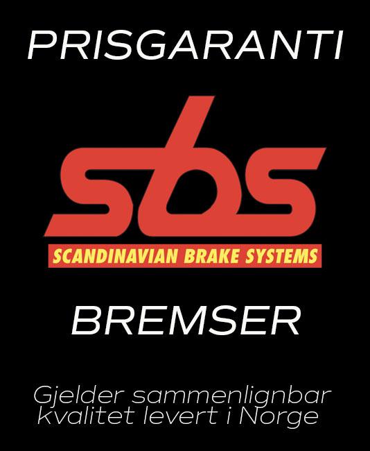 Prisgaranti på SBS Bremser