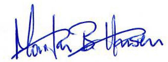 Signature Daglig leder