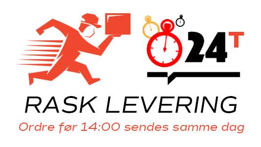 Bilde av rask levering, Norgesdel sender samme dag ved ordre før 14:00